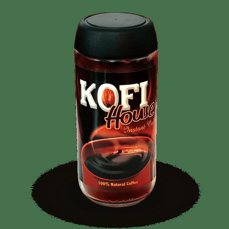 Kofi House Instant Coffee (Raw) Jar
