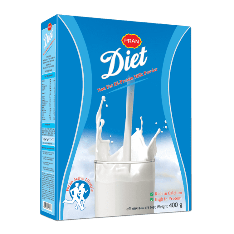 PRAN Diet Milk Powder