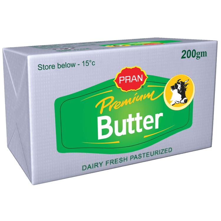 PRAN Premium Butter 200gm
