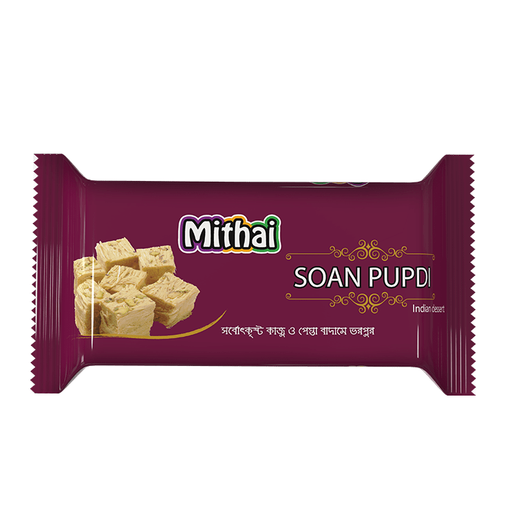 Mithai Soan Pupdi Pesta Nut Flavored