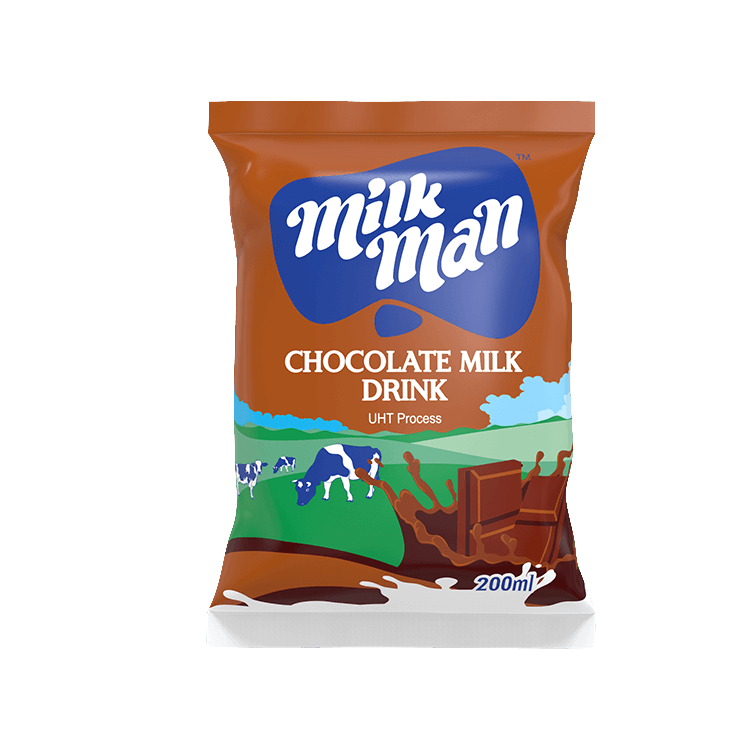 Milkman Chocolate Flavored  Milk Fino