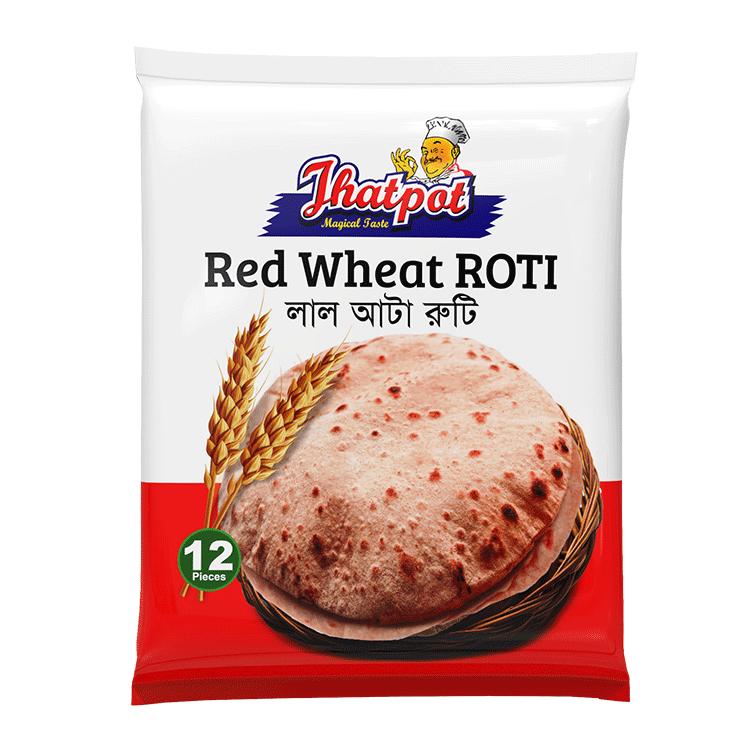 Jhatpot Lal Atta Roti