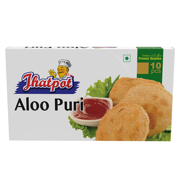 Jhatpot Aloo Puri