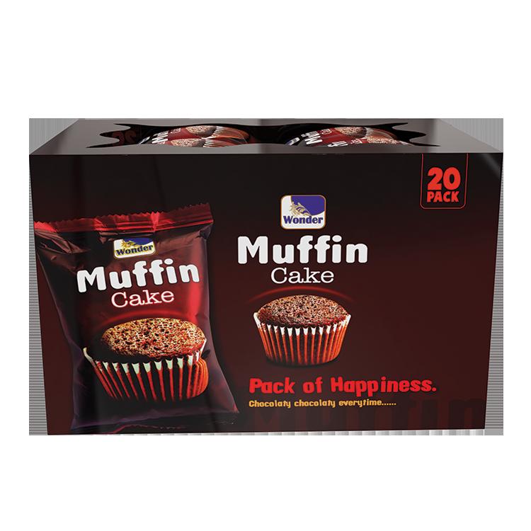 Wonder Muffin Cake Chocolate Flavored (ATC box)