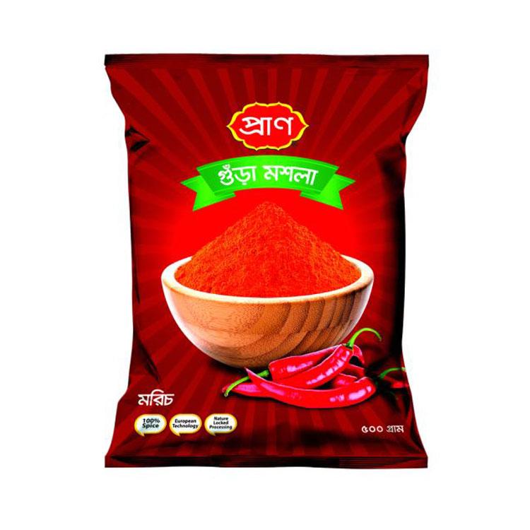 PRAN Chilli Powder 500gm Pouch