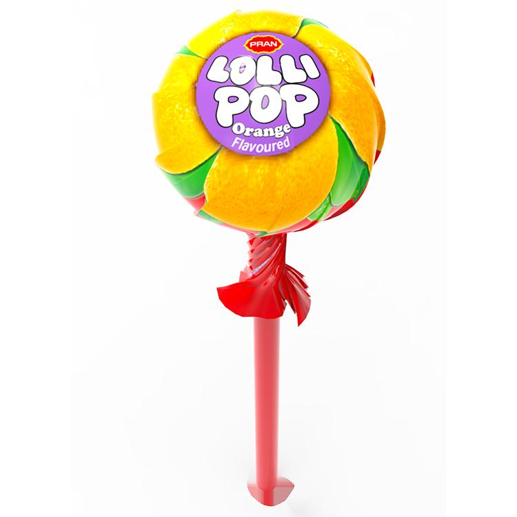 PRAN Lollipop - Orange