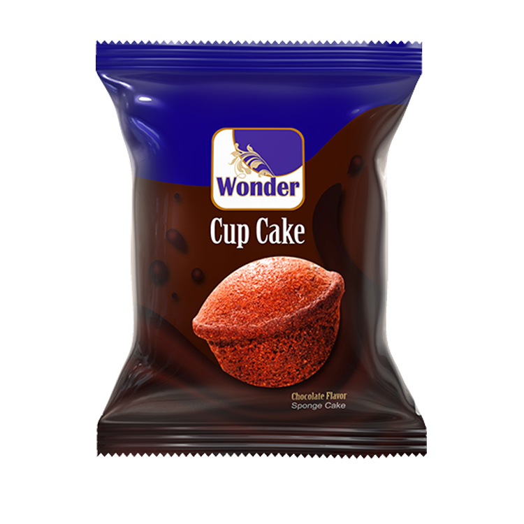 Wonder Cup Cake Chocolate Flavored