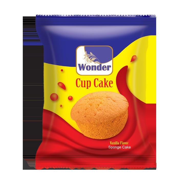 Wonder Cup Cake Vanilla Flavored