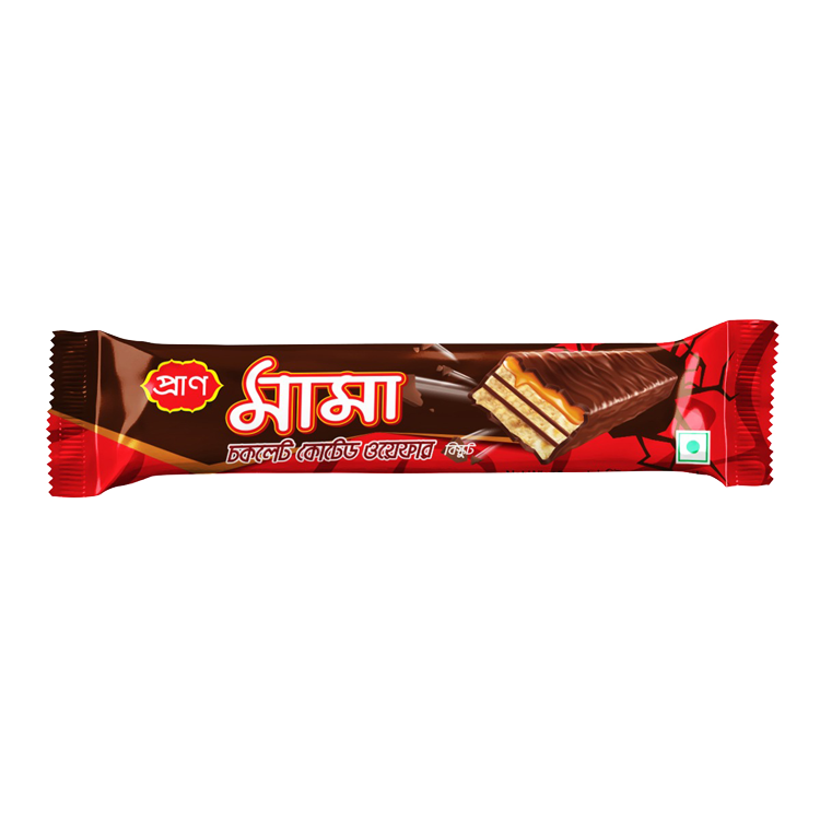PRAN Mama Chocolate Coated Wafer