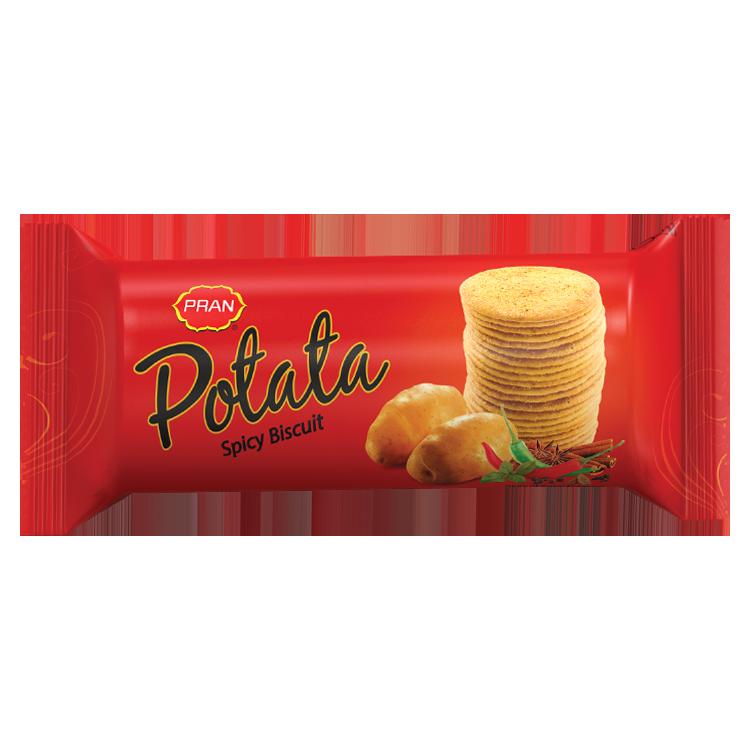 PRAN Potata Spicy Biscuit