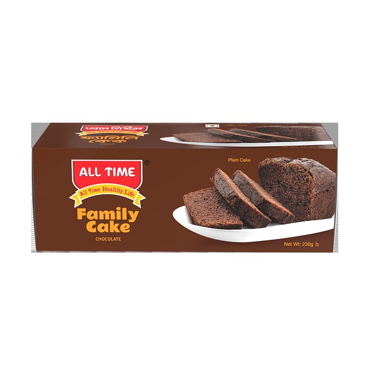 All Time Family Cake Chocolate ATC Box