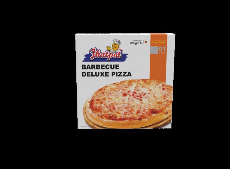 Jhatpot Barbecue Pizza