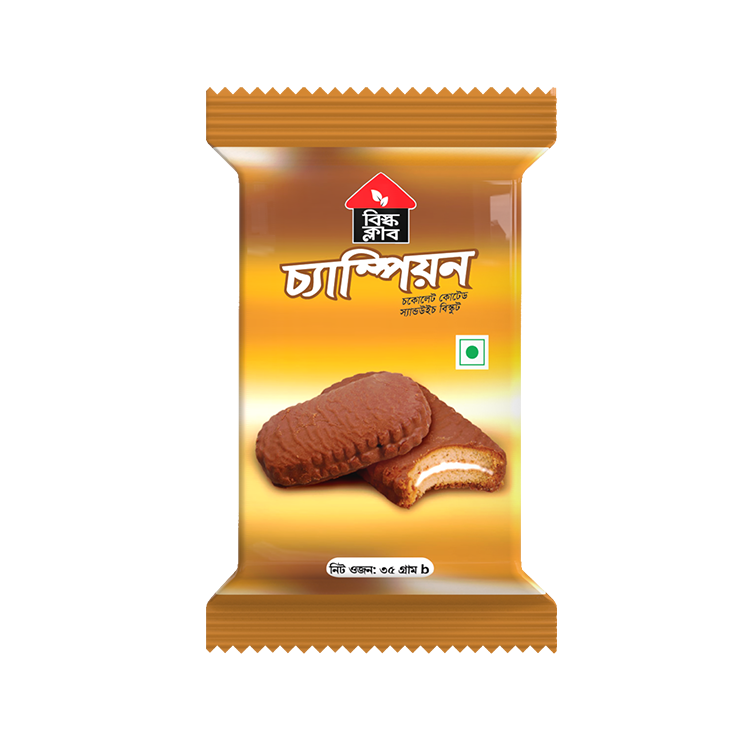 Bisk Club Champion Chocolate Coated Biscuit