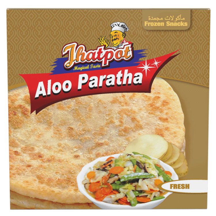 Jhatpot Aloo Paratha