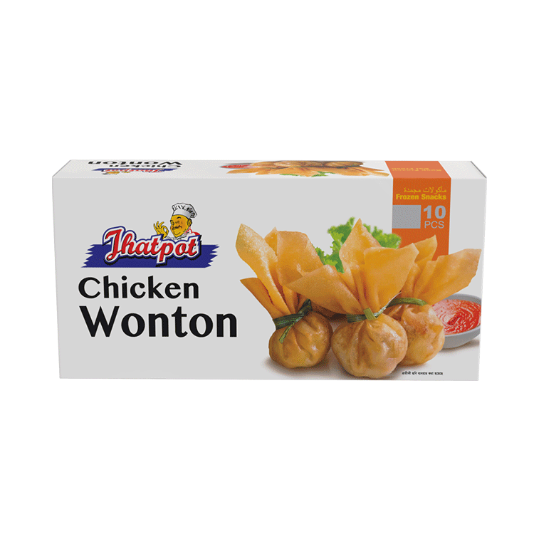 Jhatpot chicken Wonton