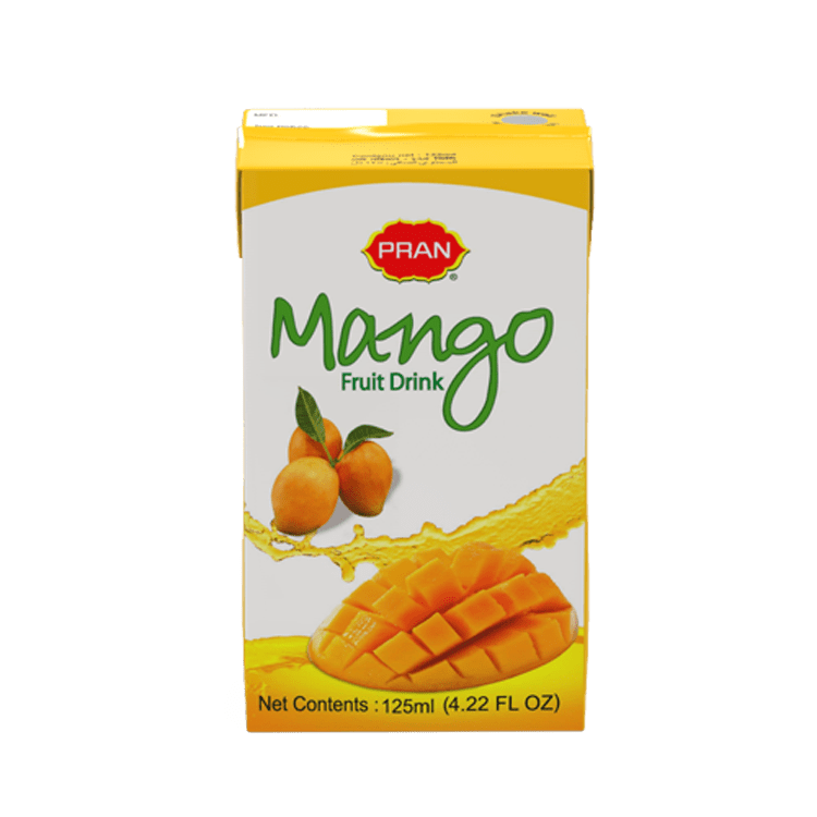 PRAN Mango Fruit Drink Tetra Pack