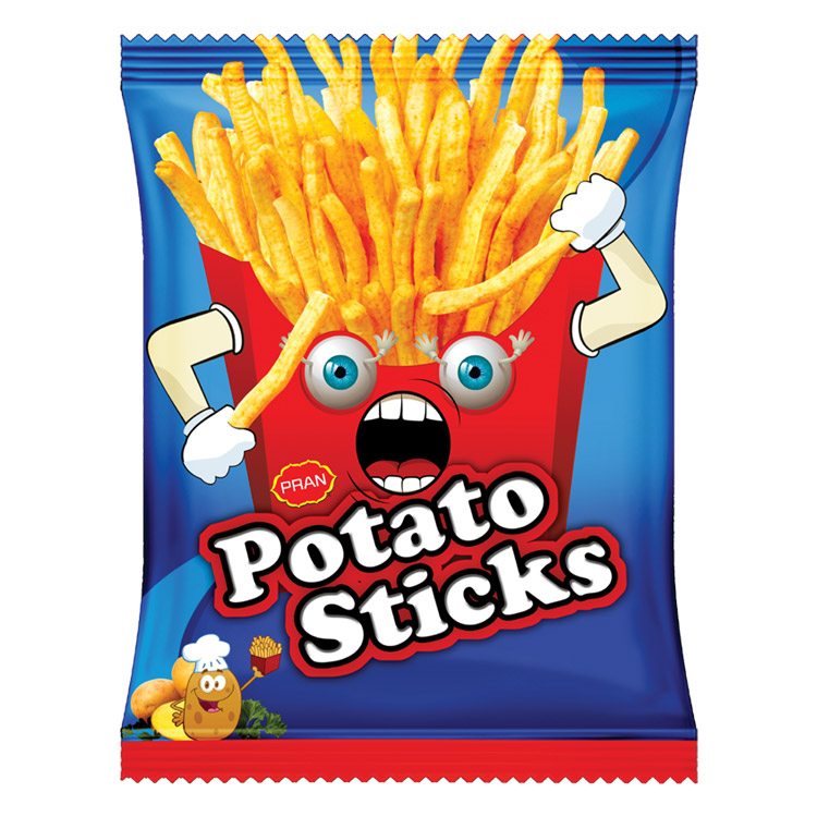 PRAN Potato Stick Export