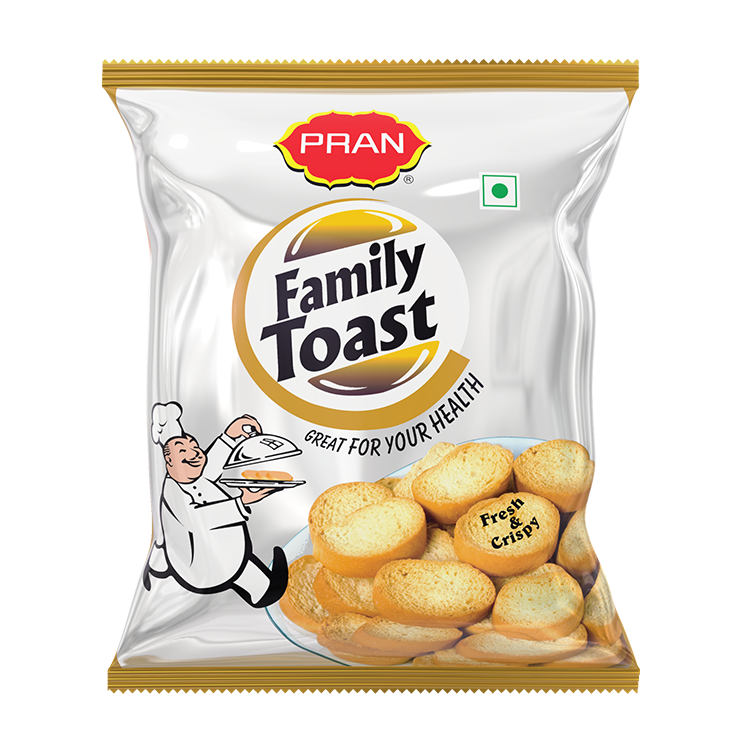 PRAN Family Toast
