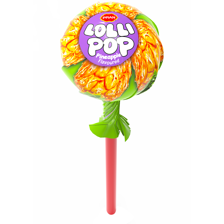 PRAN Lollipop - Pineapple