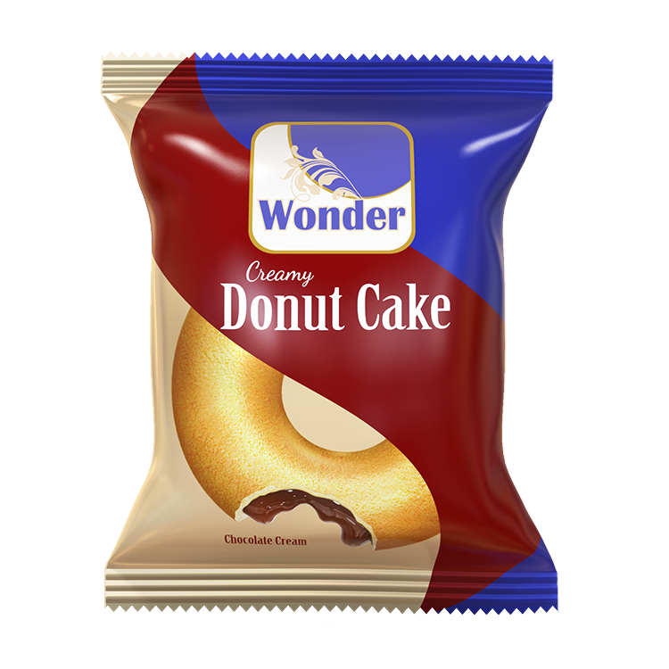 Wonder Creamy Donut Cake -Chocolate Cream