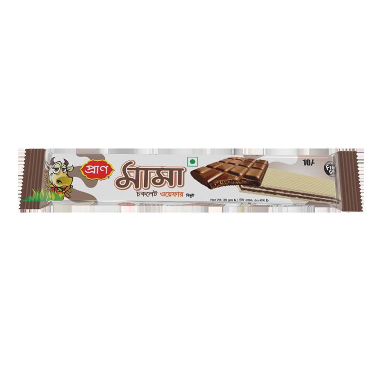 Pran Mama Chocolate wafer 30gm