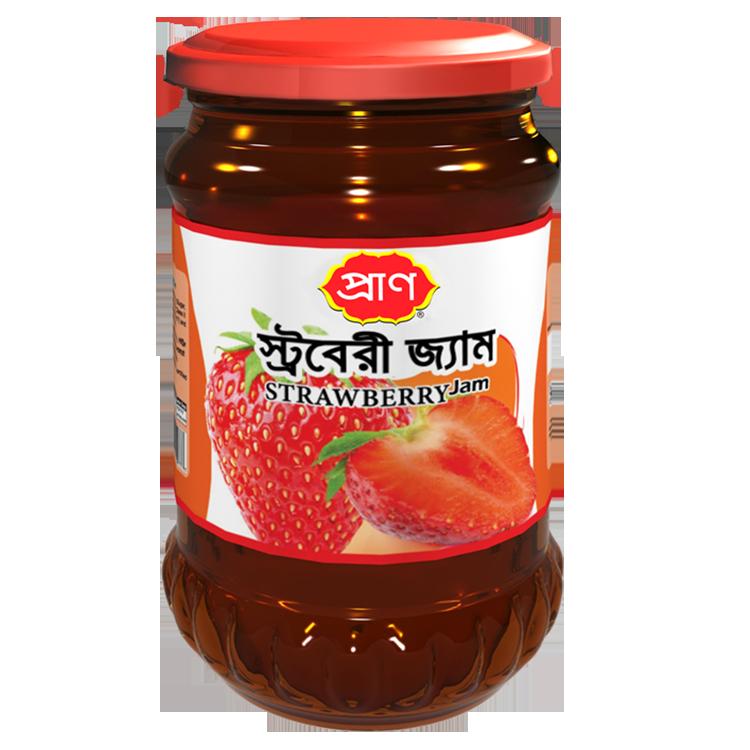 PRAN Strawberry Jam